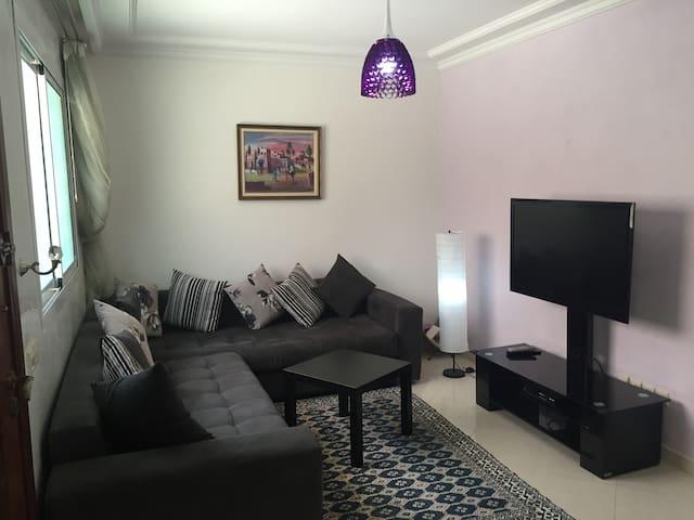 Superbe Appartement 106 m2 Rez de Jardin - Sidi Bouzid - Lägenhet