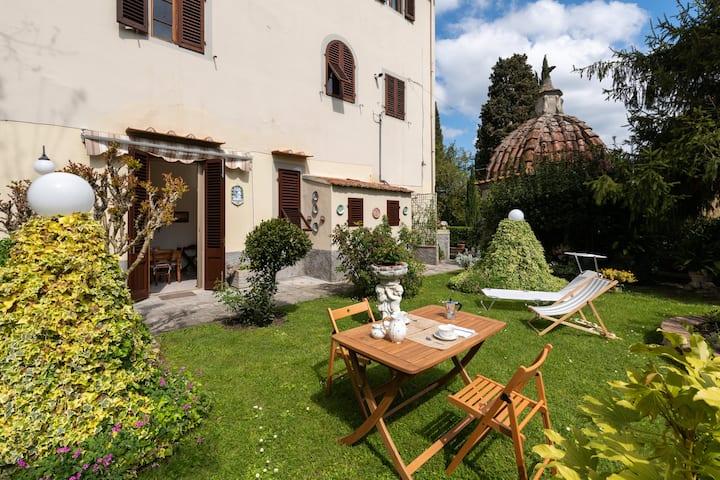 Casa Adriana in ancient Villa with private garden