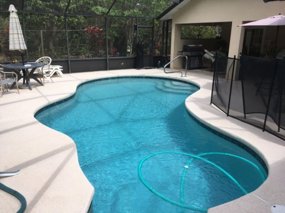 Access to Patio & Pool Ranging from 3-6 ft