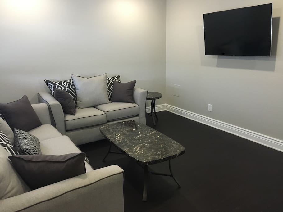 ALL BRAND NEW FURNITURE AND TV