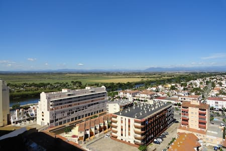 Estudio a 10 m de la playa REF-2 - Empuriabrava - Apartment