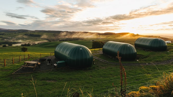 Hillhead Farm Glamping Pods, Dumfries