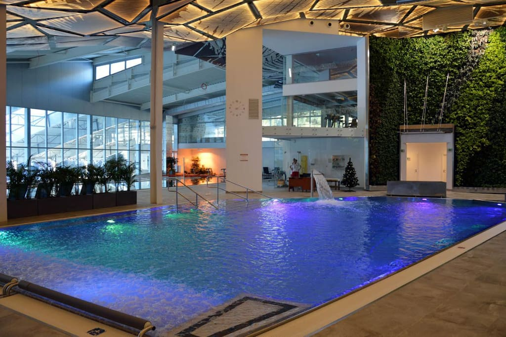 The newest wellness center in Liptovská Osada called GOTHAL is 20 mins by car from our place. There is a 25m swimming pool and pool for relax. Visit their page for more info: www.gothal.sk