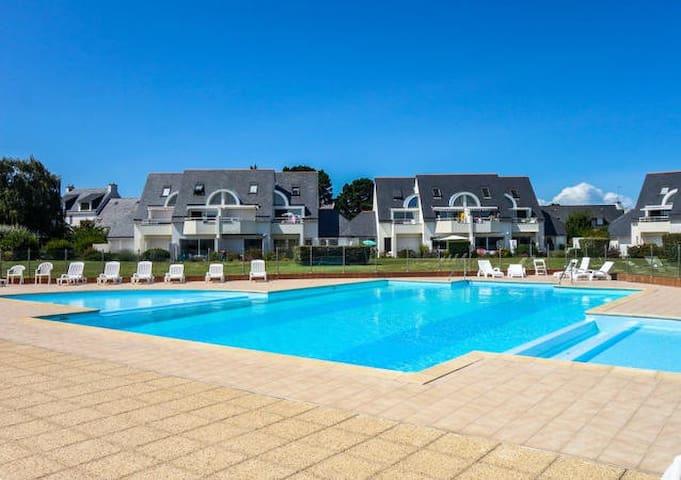 Appartement avec piscine proche thalasso et plages