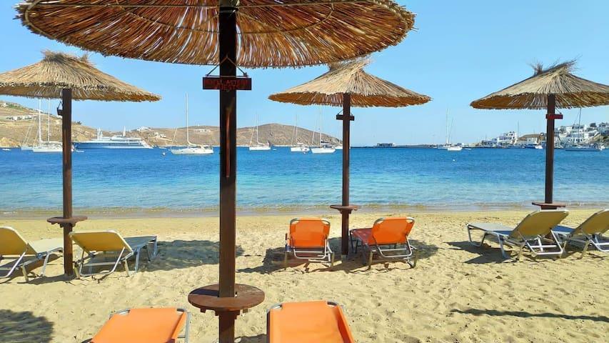 Hotel Asteri Serifos Island -Standard Twin Room