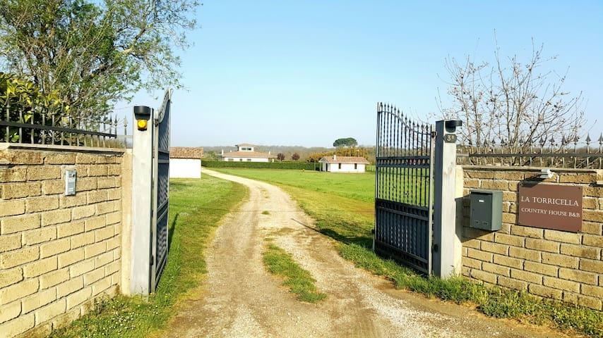 La Torricella DEPENDANCE Country House - Mazzano Romano - Einliegerwohnung
