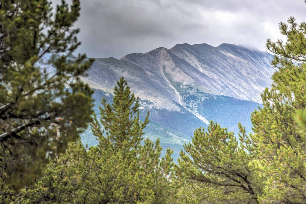 From the property, you'll enjoy mountain views and scenic walking trails.