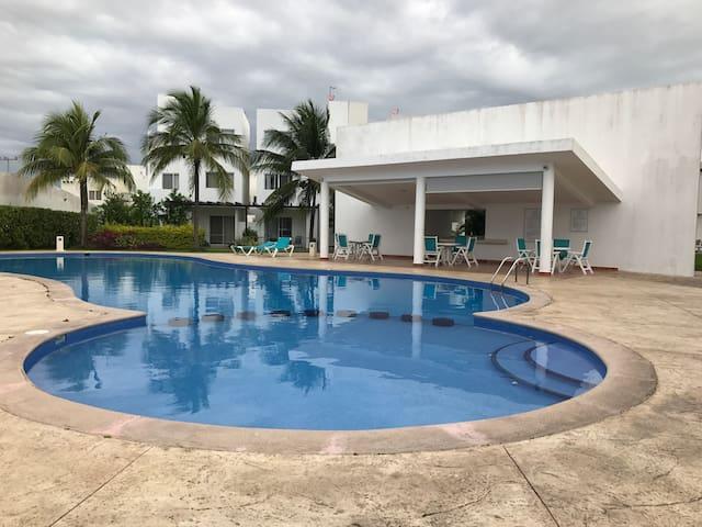 Depto. A 20min. De la playa - Cancún - Huoneisto