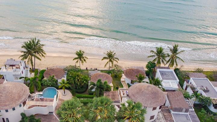 4BR Beachfront Pool Villa by Aleenta Hua Hin