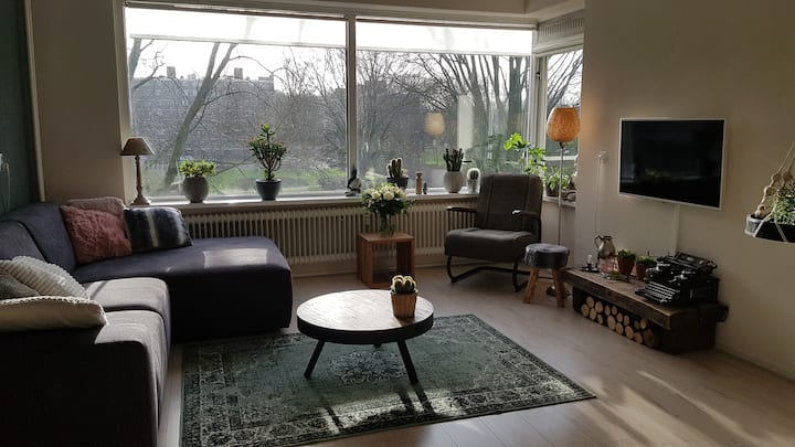 Nice, green, guiet appartement in Rotterdam
