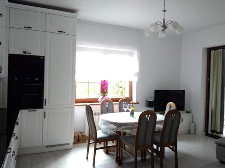 Apartament Nad Jeziorem Długim z ogrodem-  Olsztyn