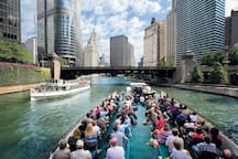 Chicago Architecture River Cruise is just 9 minutes away (2.7 miles) from the property!