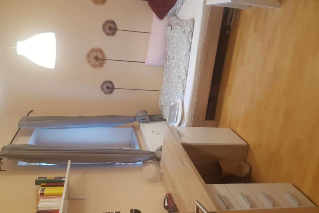 gem tliches zimmer in w rzburg wohnungen zur miete in w rzburg bayern deutschland. Black Bedroom Furniture Sets. Home Design Ideas