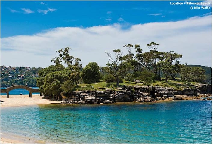 Absolute Beachfront Balmoral Mosman