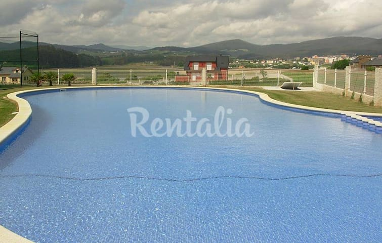 PLAYA PISCINA Y AREA INFANTIL Y DEPORTIVA - Barreiros - Appartement