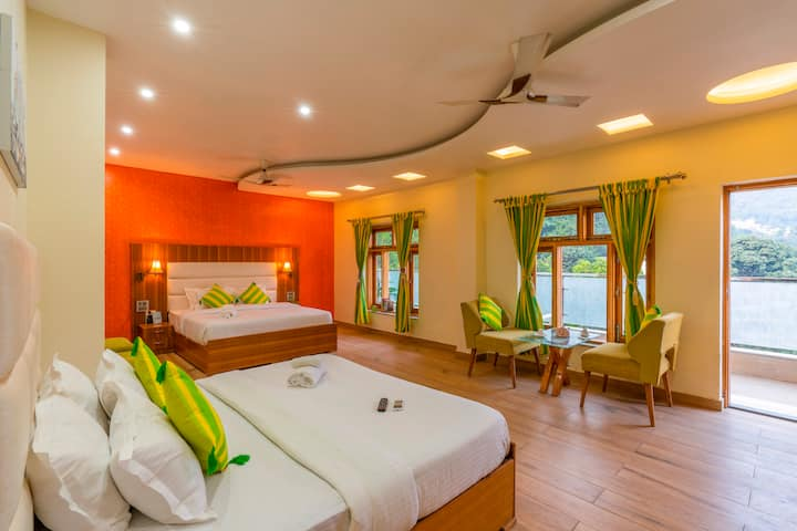 Quad Room for 4 Adults in Rishikesh