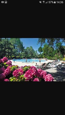 Bel appartement dans résidence avec piscine - Moliets-et-Maa - Apartament