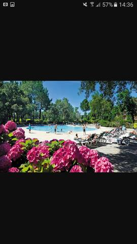 Bel appartement dans résidence avec piscine - Moliets-et-Maa - Departamento