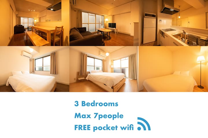 NEW! Middle of centre 3min walk from Shijo sta#206