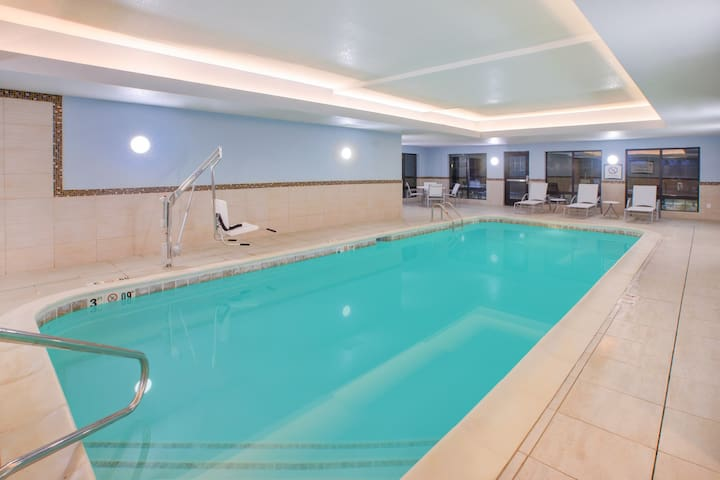 Equipped Studio | Free Daily Breakfast, Indoor Pool + Fitness Center