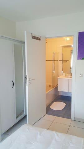 RDCH JARDIN SUD - CENTRE WATERLOO - Waterloo - Apartmen