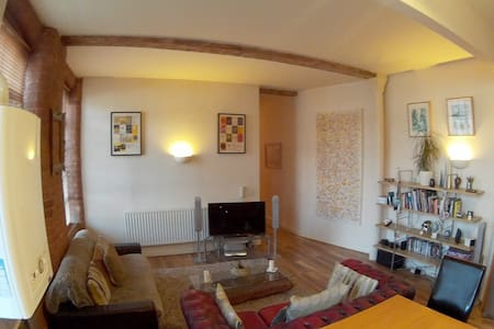 Beautiful Converted Mill Apartment - 2 bed.