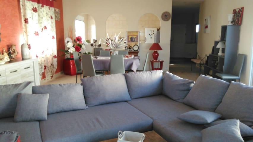belle maison au pied de la camargue - Saint-Gilles - Villa