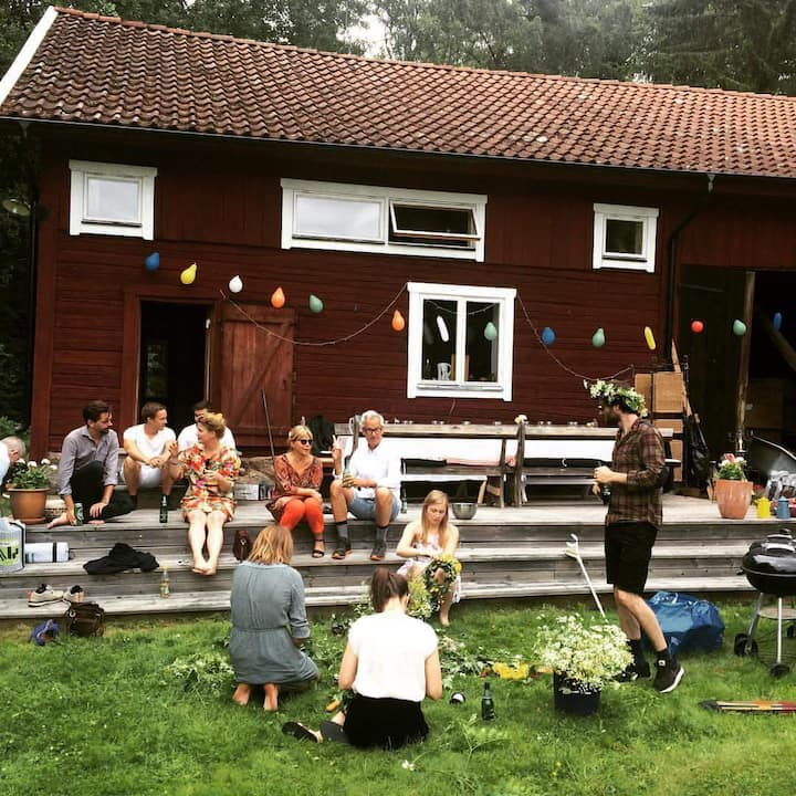 Get together & Yoga place  countryside close Sthlm