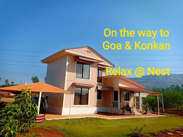 "New Mahableshwar,Koyna. ""Nest"".. Farmhouse / villa"