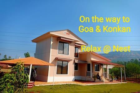 "New Mahableshwar,Koyna. ""Nest"".. Farmhouse / villa"