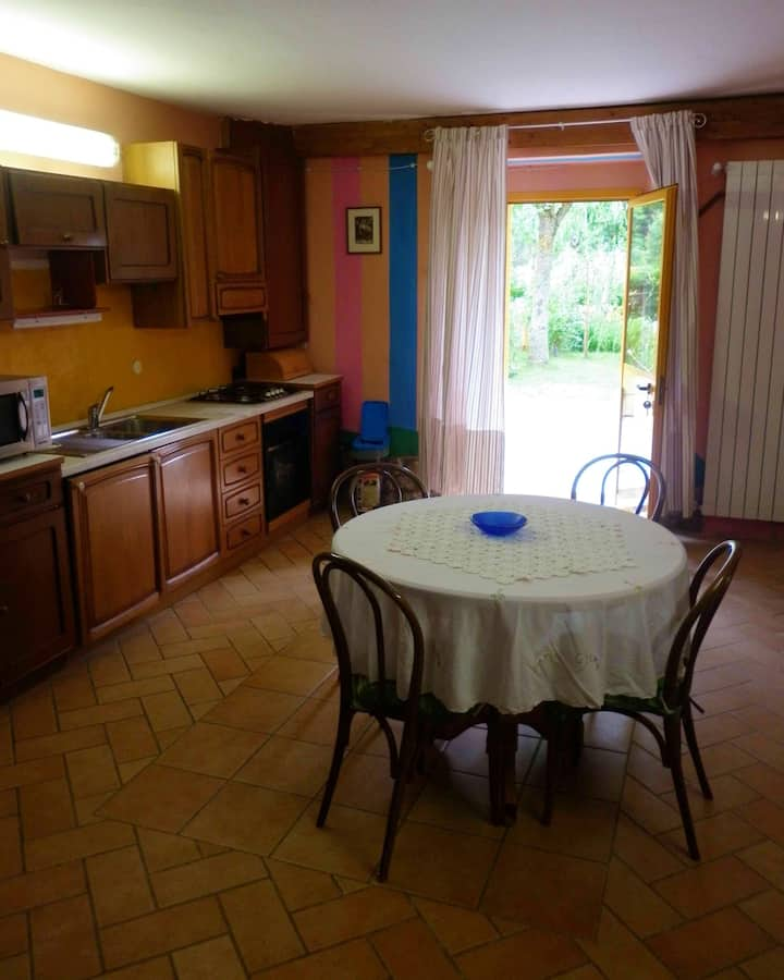 Apartment with one bedroom in Maserno, with shared pool and enclosed garden