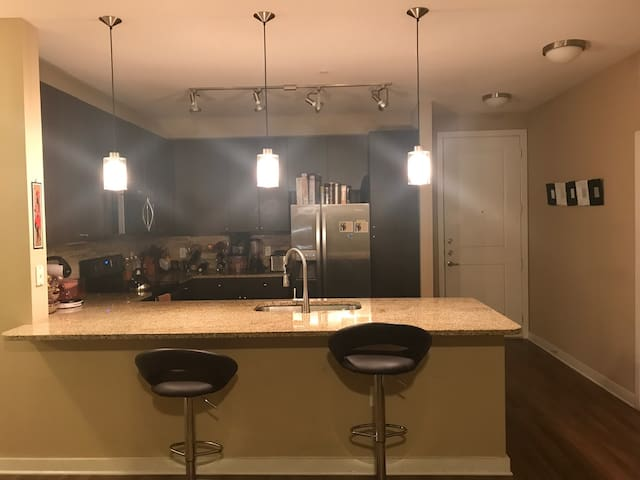 A beautiful modern apartment
