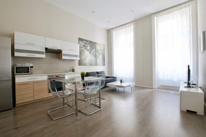 Flatiron Budapest - Superior one-bedroom Apartment