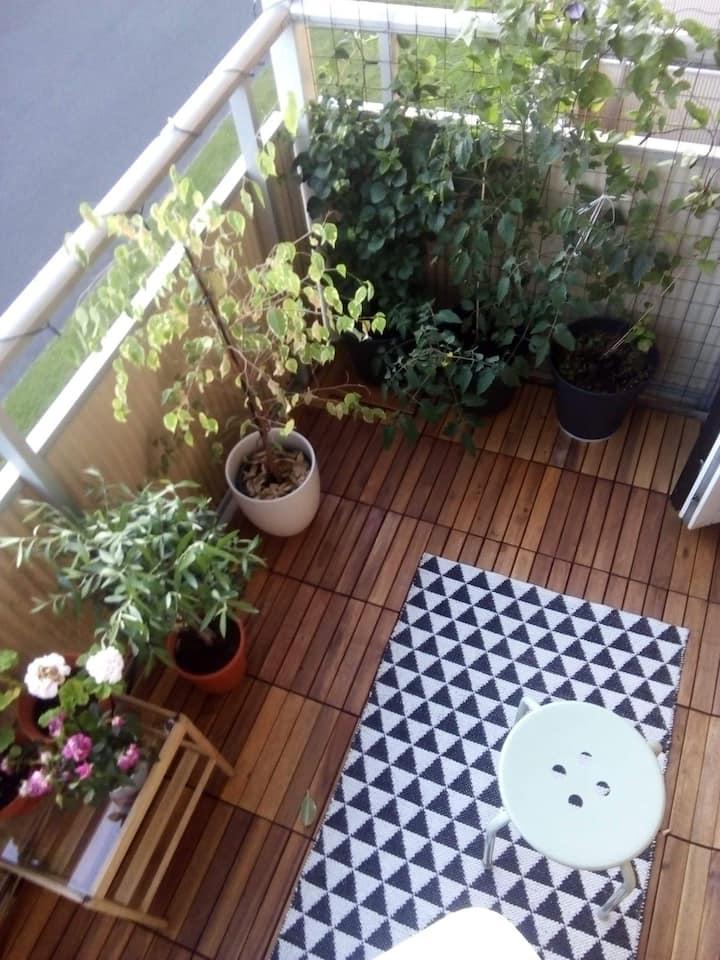 Central, ljus och fin lägenheten till billigt pris