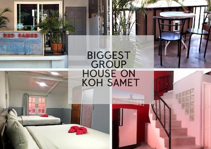 Red Samed BIG GROUP Party House Sleeps 13
