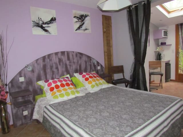 Chambre Lilas des Oliviers