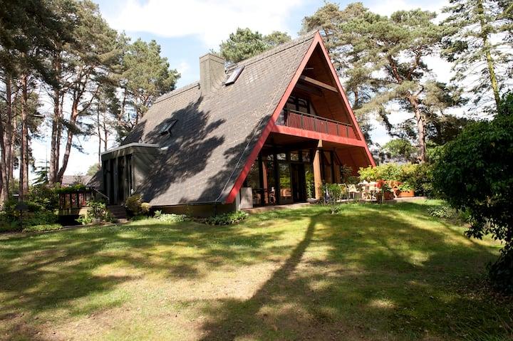 Idyllisches Ferienhaus in Abbensen