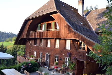 neuhaus group house in the Emmental - Emmenmatt - Haus