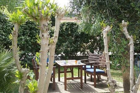 Chambre individuelle avec jardin - La Crau - Dům