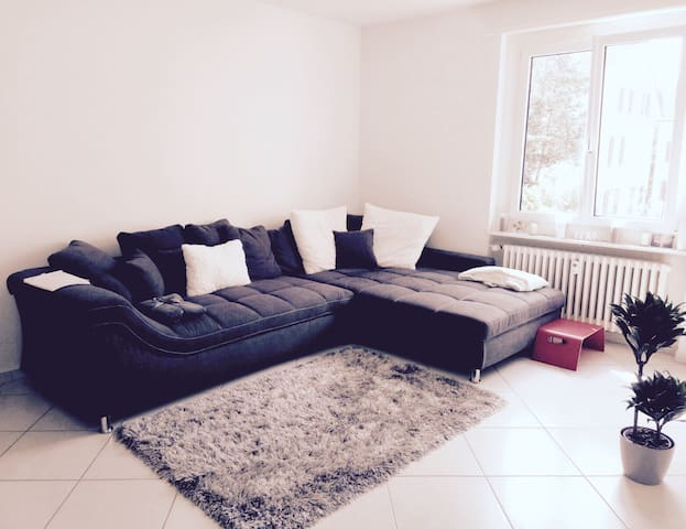 Beautiful bright 2-room apartment in Basel - Birsfelden - Wohnung