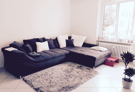 Beautiful bright 2-room apartment in Basel - Birsfelden - Apartamento