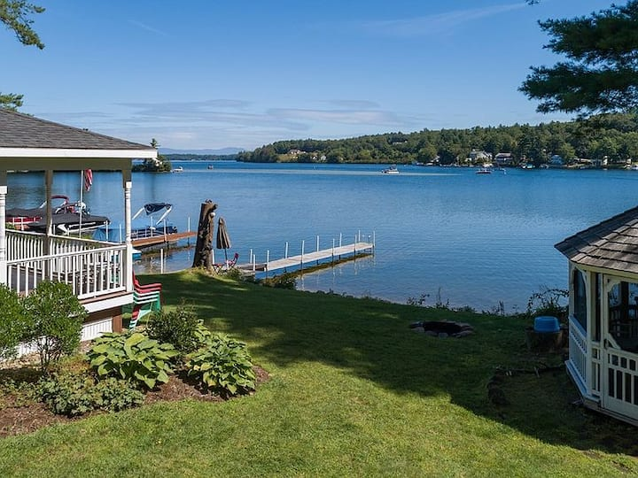 Waterfront Family Getaway w/ Boat slip