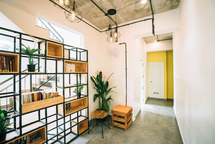 Draper Startup House 1 bed in 4 bed mixed dorm-KOR