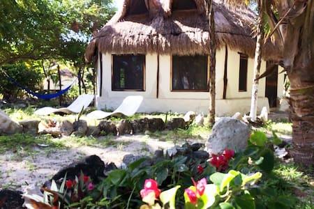 Atlantis - Kabahna (Mahahual, Costa Maya) Mexico - Mahahual - Přírodní / eko chata
