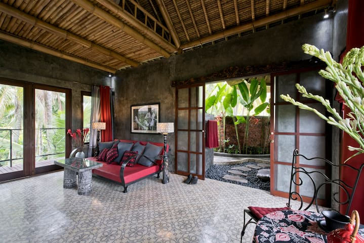 Firefly Eco artist ricefield appartment - Ubud - Flat