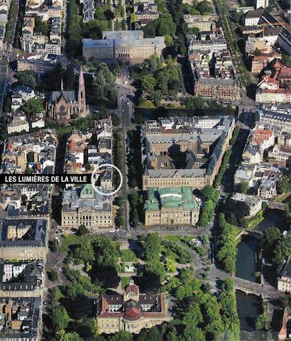 Au coeur du quartier imperial, proche cathédrale..
