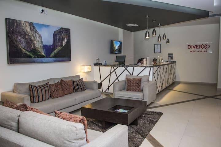 Diverxo Hotel (familias, grupos, negocios)