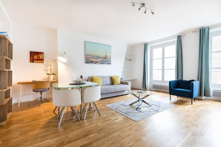 Luminous apartment in the heart of Bastille