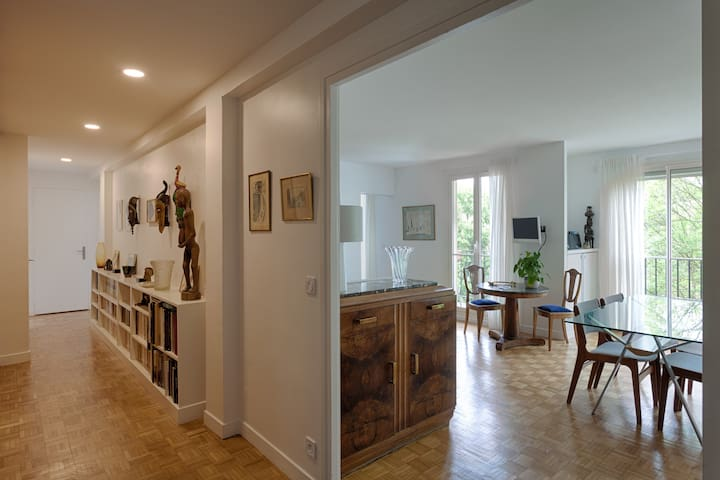 Splendid 2 bedroom apartment and Paris 15mn
