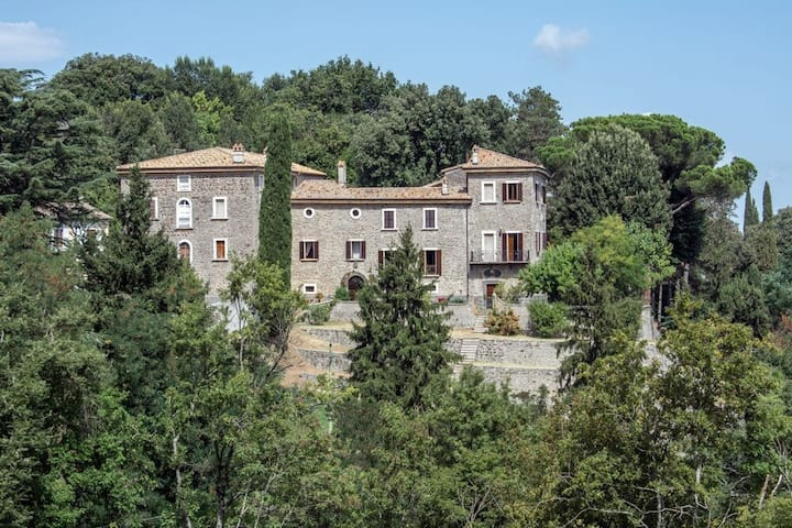 Villa degli Affreschi, wonderful view of the city of Orvieto